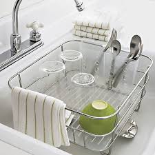 Kitchen Drying Rack For Sink by When You Need A Tiny Dish Rack For A Tiny Kitchen Kitchn