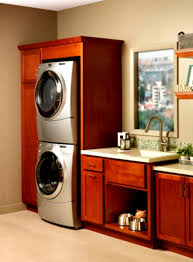 red laundry room cabinets effective stackable washer and dryer laundry room organization ideas interesting utility design