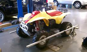 front wheel alignment polaris atv forum
