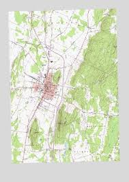 map of st albans albans vt topographic map topoquest
