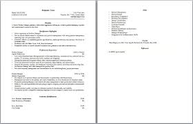 Detailed Resume Examples Duties Of A Waitress For Resume Sample Cv For Waitresses Waitress