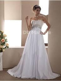 robe mariã e enceinte robe de mariée enceinte sans bretelle plumes appliques chiffon