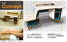 Gaming Desk Ideas by Paragon Gaming Desk By Tom Balko At Coroflot Com