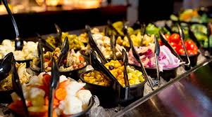 round table salad bar try our all you can eat buffet shakey s bunch of lunch pizza buffet