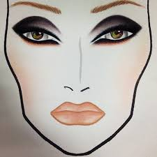 blank vector before working on real models a huge event most makeup artists plan what they 39 re
