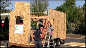 building at the tiny house conference april 2015 portland or