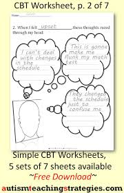 worksheets anxiety worksheets for kids atidentity com free