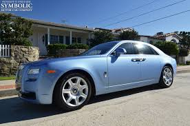roll royce blue baby blue ghost