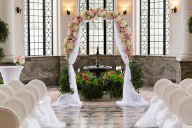 wedding arches toronto classic luxury casa loma and shangri la hotel toronto wedding