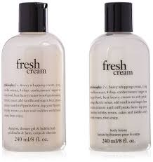 amazon com new philosophy 3 piece welcome philosophy girl gift philosophy i think you are wonderful fresh cream 2 count