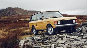 you can now buy a factory restored 1978 3 door range rover classic