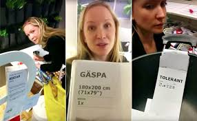 ikea puns video man drives girlfriend crazy at ikea by using clever puns