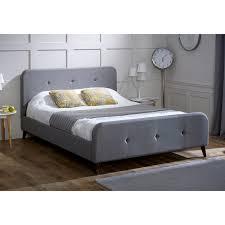 suede bed frame susan decoration