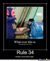 Rule 34 Memes - teletubbies rule 34 by awesomeguy304 meme center