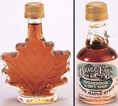 maple syrup wedding favors bragg farm glass specialties for sale