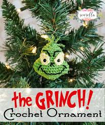 crochet grinch inspired ornament traditions