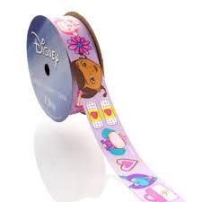 doc mcstuffins ribbon 7 8 disney doc mcstuffins and friends lavender satin ribbon