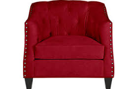 Red Club Chair Living Room Chairs Oversized Swivel U0026 Club Chair Styles