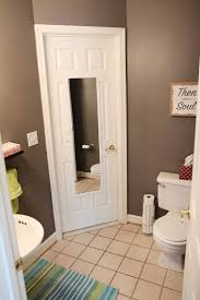 Powder Room Towels - crafty nester powder room room