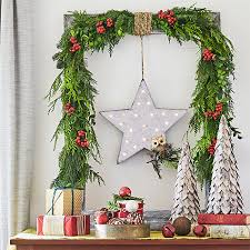 Christmas Banister Garland Diy Christmas Garland Ideas