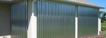 hurricane shutters key west fl accordion roll panels