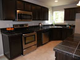 Kitchen Pictures With Dark Cabinets Flooring With Dark Cabinets Comfortable Home Design