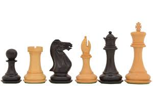 buy staunton weighted wooden chess set in ebony u0026 box wood online