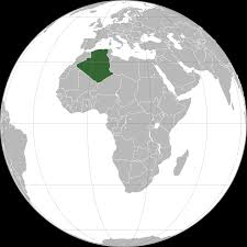 Algeria World Map Algeria Map Political Algeria Map Outline Blank