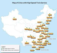 g map china high speed railway maps 2018 map of bullet trains