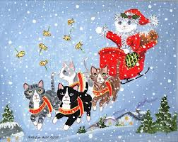 284 best merry christmas cats images on pinterest christmas