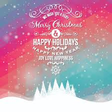 merry and happy background vector background