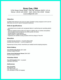resume for cna exles resume for cna exles 73 images cna resume skills bio
