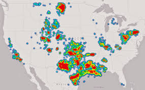 Show Map Of The United States by What The Frack These Maps Show Where You Shouldn U0027t Drink Tap