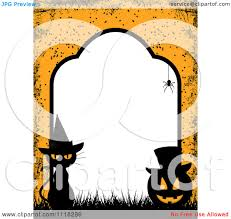 halloween banner clipart royalty free rf clipart illustration of a wooden shield store