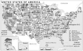 united states map black and white free usa states and counties map black and white states and