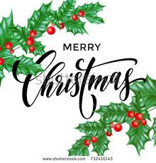 greeting hand drawn card christmas wreath stock vector 498407584