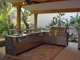 Outside Kitchen Ideas Outdoor Kitchen Ideas For The Outdoor Kitchen Concept Modern