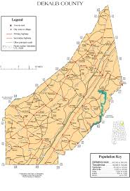 Bucks County Map Maps Of Dekalb County