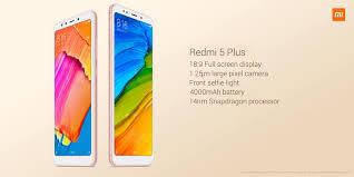 Redmi 5 Plus Xiaomi Redmi 5 Plus Fingerprint 5 99 Inch 3gb Ram 32gb Snapdragon