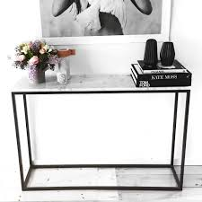 Modern Entry Table by Carrara Marble Entrance Table Entrance Table Carrara Marble And