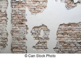 Mold On Basement Walls Cinder Block - stock images of water damaged and moldy basement wall severe