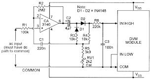 component analog multimeter block diagram patent us5396168 digital