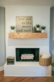 Fireplace Decor Best 25 Brick Fireplace Decor Ideas On Pinterest Brick