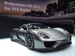 new porsche 918 spyder 2013 frankfurt porsche u0027s all new supercar debuts alongside its 50
