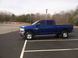 2014 dodge ram 2500 diesel picked up a 2014 2500 ram ccsb 4x4 bluestreak pearl dodge