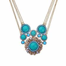 multi layer necklace images Maxi necklace geometric flowers multi layer necklace collier femme jpg