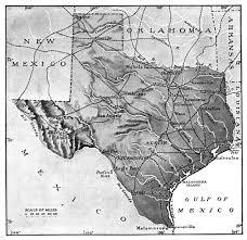 Old Texas Map Texas Texas Liberal