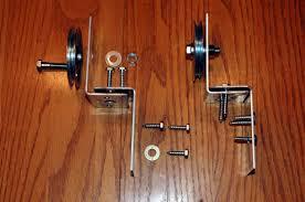 How To Make A Barn Door Track Sliding Closet Door Track Bypass Sliding Barn Door Hardware