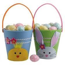 rabbit easter basket easter and baskets ebay