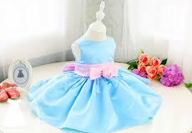 Thanksgiving Dresses For Infants Light Ocean Blue Fancy Baby Thanksgiving Dress Baby